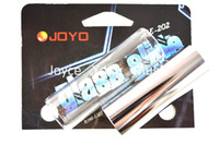 Wholesale Joyo Smooth Glass Slide Chrome Steel Slide Guitar Slides Resonant Rich Tones Bright Metallic Tones Wholesales