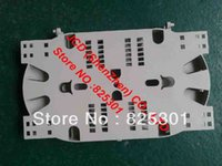 Wholesale Cable Terminal wiring plate Optical fiber splice tray Splice Tray pin pin gray Carrier with Reversible lid mm