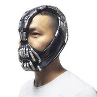 batman bane mask - Batman Movie Bane Mask The Dark Knight Halloween Costume Cosplayer Prop new arrivel mask hot sale