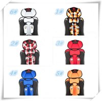 Wholesale New Design Fashion Kids Car Satety Seat Children Car Cushion Baby Carrier Baby Sling Baby Infant Car Booster Seat Harness
