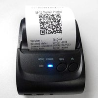 Wholesale 58mm Mini Portable Thermal Printer Thermal Printer Receipt POS LD for Windows Android Smartphone with Bluetooth