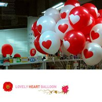 Wholesale Thicken Latex Balloons For Party Festival Wedding Decorations With Large Valentine Printed Heart