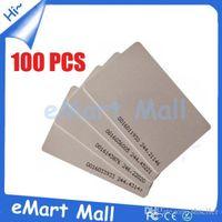 RFID Access Control - Khz RFID EM4100 PVC Card mm Thin ID Card for Access Control A5