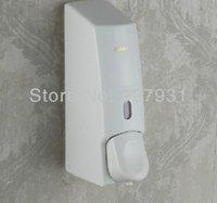 Baño ABS blanco dispensador de jabón líquido Espuma Loción líquido Shampoo Dispenser