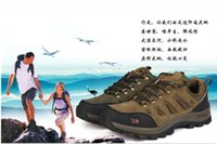 Wholesale Outdoor Hiking Shoes in the spring and autumn season prevent slippery wear resisting outdoor shoes for men and women walking shoes on sale