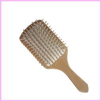 big hair comb - Professinal New Anti static Comb Health Wood Massage Big Comb Hair Brush Classical Style Wooden Comb By DHL
