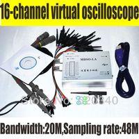 Wholesale PC Analog Virtual oscilloscope Channel Logic Analyzer Bandwidth M Sampling rate M Circuit analysis debing tools order lt no track