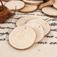 antique wood decor - Deal x Round Shaped Natural wood slices discs Craft Hobbies Pyrography nautical decor
