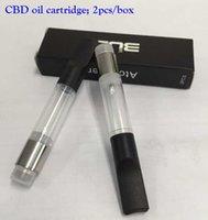 Wholesale Factory CO2 vape pen atomizer disposable CE3 vape tanks BUD Touch cbd oil cartridges With Thread o pen battery E Cigarette