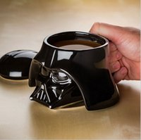 Wholesale Star Wars Ceramic coffee mugs Darth Vader Stromtrooper Iron Man D Solid plastic water cup coffee cup Kids Christmas Gift