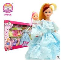 Wholesale S3073 Shirley Girl Barbie Doll Gift Set genuine play house toy gifts