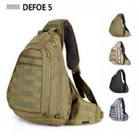advance outdoor - Field Tactical Chest Sling Pack Outdoor Sport A4 One Single Shoulder Man Big Large Ride Travel Backpack Bag Advanced Tactical