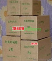 Wholesale CPAP cm Three Layer Corrugated Paper Postal Box Packing Paper Box SD P