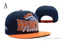 Wholesale National Football Broncos Snapback Sport Hats Caps Adjustable Quality Snapbacks Soccer Hat Cap