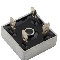 Wholesale Hot Pc Amp A Metal Case V Diode Bridge KBPC5010 Volt Bridge Rectifier DropShipping High Quality