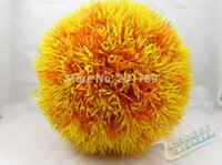 Wholesale Simulation of plastic grass ball Artificial plants grass ball aquarium fish tank decoration plants