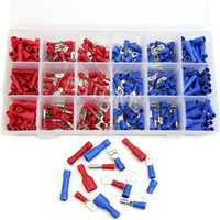 battery terminal kit - Insulated Wire Terminal Assortment Kit Connector Wiring Spade Butt Ring order lt no track