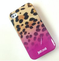 Cheap New 4 4s 5 5sLuxury Puro Just Cavallis Leopard Snake Print TPU Case Silicon Cover for Apple iphone 6 4.7 case 6 Plus 5.5