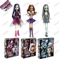 baby alive lot - Original pc Monster High dolls Monster High It s Alive Doll Spectra Vondergeist Clawdeen Wolf Frankies Stein FreeShipping