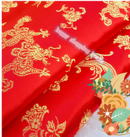 antique doll clothes - 2m width cm AAChinese clothing Brocade cloth doll dress costume Hanfu antique garments fabrics brocade Fine dragon silk fabric