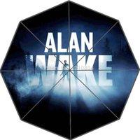 alan wake - Custom Adventure Game Alan Wake Portable Fashion Foldable Umbrella