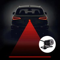 Wholesale Vehicle Car Rear Anti collision led Laser fog Light heavy duty vehicle Tail fog LED Warning Lamp Auto Brake Parking Lamp ZM00061