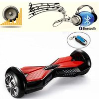 Wholesale LED RGB Electric Chrome Scooters Bluetooth Remote Key Hoverboard Smart Balance Scooter inch mah Samsung Battery Smart Balance Wheel