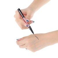 Wholesale Fashion Waterproof Black Eyeliner Liquid Make Up Beauty Comestics Eye Liner Pencil MPT W458
