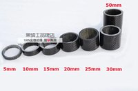 Wholesale Mountain bike mm fork bowl k carbon fiber road bicycle spacer mm cycling parts for fork