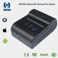 Wholesale Hot sell Mobile thermal pos58 receipt bill smallest printer with RS232 USB support ESC POS and windows