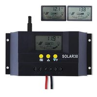 solar battery charge controller - 10A A A A V V MPPT PWM contorl mode Solar Charge Controller Solar Panel Battery Regulator