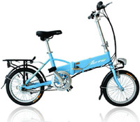 Wholesale 16 Electric Bicycle Only High Quality Lithium Battery W Motor and Aluminum Alloy Frame