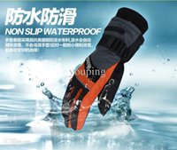 Wholesale Professional Outdoor Newest Waterproof USB Self Heating Battery Powered Thermostatic Electric Gloves Keep Finger Back Warm Glove