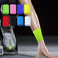 Wholesale Fashion Unisex Cotton Sweat Band Sweatband Wristband Arm Band Basketball Tennis Gym Yoga