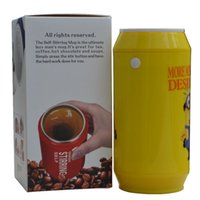 adult powder milk - Stainless steel inner shaker my water bottle bpa free ml electric automatic powder coffee tea milk creative self stirring mug