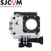 Wholesale 2016 new Original SJCAM SJ4000 SJ4000 WIFI Underwater Waterproof Dive Housing Case Camcorder Camera Helmet DHL