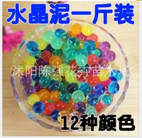 Wholesale High quality crystal ball Crystal mud crystal soil soilless gardening colors