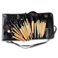 Wholesale 2015 HOT set Makeup Brushes Sets Professional Cosmetic makeup brushes tools high quality brush set whit black case