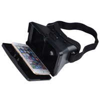 Wholesale 1pcs Google D Glasses D Movies Games VR Box Head mounted Virtual Reality VR Resin Lens For iphone s plus s plus