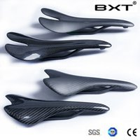 Wholesale 3k Matte glossy bicycle full carbon fiber mtb mountain bike saddle carbon road bike saddle carbon cycling seat cushion saddle