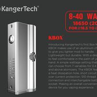 Wholesale Genuine Kanger Kbox w mod perfectly fits subtank v2 mini nano sub ohm atomizer Variable Wattage k box k box vs cloupor mini box mod istick