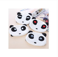 antivirus panda - Cute Rabbit Red Panda Cartoon Plush Outdoor Mask Dustproof Colorful Mask Breathable Cotton Warm
