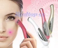Wholesale Mini home skin care Automatic Anti Wrinkle Eye Massager Vibration Iontophoresis eye massage beauty device for home use