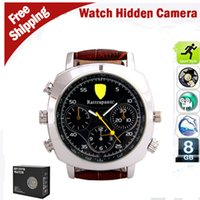 spy watch - Spy brown leather wrist Watch Camera HDW01B built in memory have retail package