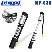 bicycle shock pump - BETO Portable Cycling Bicycle Bike Shock Absorber Suspension Pump Tire Inflator Air Pump with Pressure Gauge PSI MP