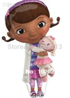 doc mcstuffin - 2pcs Cartoon Movie Doc McStuffin Plush Toys Doc McStuffins Plush Doll cm Lambie Plush cm