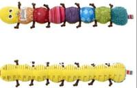 al por mayor plush toys with music-La venta al por mayor libre del envío A la oruga de Lamaze de la oruga de la música de la oruga juega el bebé recién nacido del regalo del bebé juega la naranja