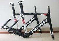 Road Bikes Carbon Fibre 3K Hot sale ! Black white cervelo bike frame cervelo s5 VWD carbon road frame road bicycle frame fit Mechanical and DI2 free shipping