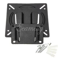 Wholesale New Black Wall Mount Holder Bracket for quot quot Inch Flat Panel Screen LCD LED Display TV Monitor