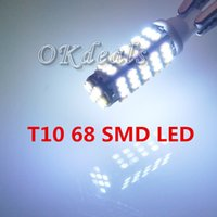 Wholesale 1 Car T10 Pure White SMD DC V Side Indicator Light Bulb lamp Parking No Fit Audi B4